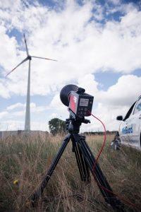 Thermographic Flow Visualisation on Wind Turbine