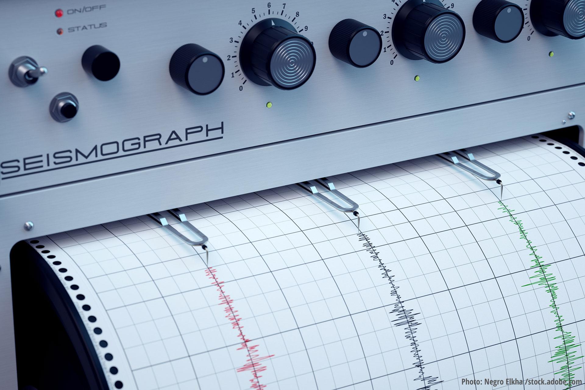 Seismographic activity